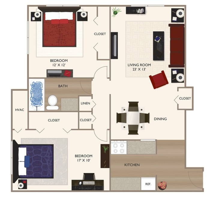 The Glenway Floor Plan Image